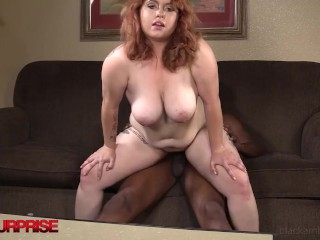 Chunky 22yo Ginger Arielle Goes Wild While Dark Dicked By Big Black Cock! dummy thicc girls