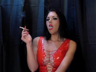 Young goddess kim/smoke slave/young goddess smoking red kim