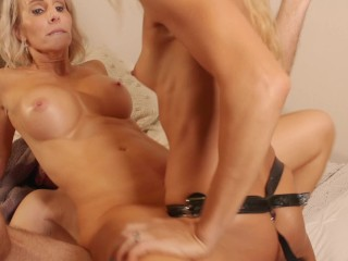 MILF double penetrated by Kinky Married Couple