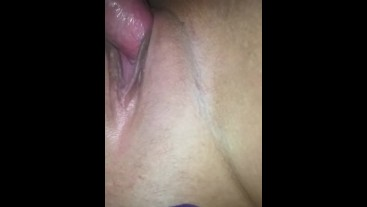 She squirted all over my creampie while i where fucking her