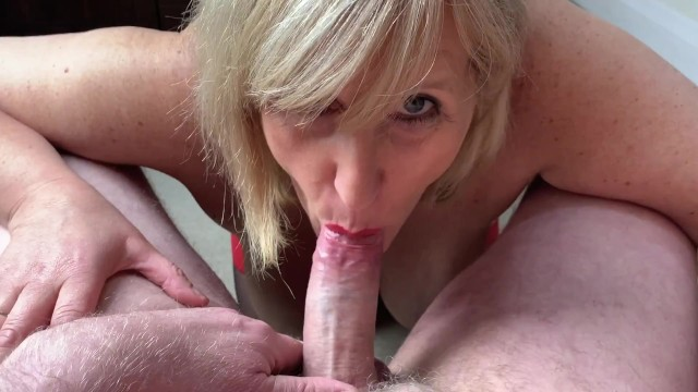 Cum hungery whores Mature cock hungry whore gobbles cock, guzzles cum and loves it