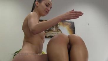 Lola's otk spanking 2308