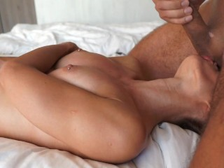 Passionate sex with fitness hottie LacyLuxxx