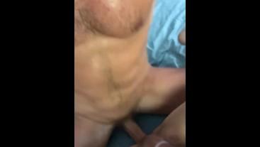 Sweaty sex!! Taking that dick deep