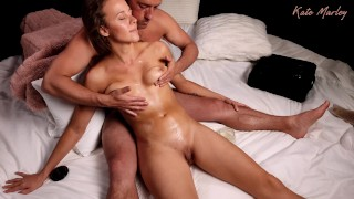 Showing Appreciation with an Intimate Chest & Pussy Massage Kate Marley
