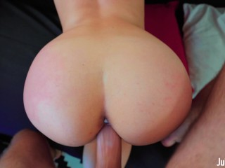 18 Years Old Cutie Getting A Load In Her Mouth