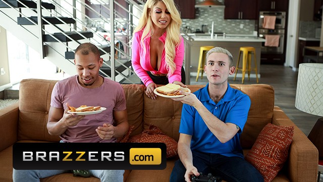 Skarlett jonson naked Brazzers - sexy busty babe bridgette b has a double penetration by two big cocks