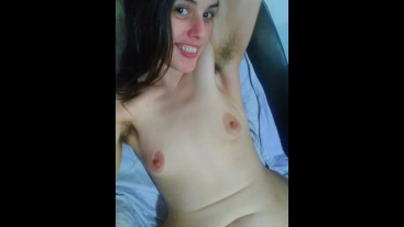 Sexy Slutty Hot Hairy FLATULENT Spiritual Girl Gives you a STINKY FART from the Bottom of her Heart!