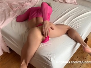 MONSTER COCK DADDY raw fucks slutty Twink in pink!