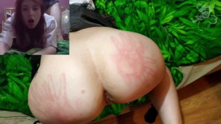 nasty polish step daughter caught smoking – teaser Book Pirate real roleplay
