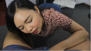 My Pinay Bestfriend Sharinami Talks Dirty and Swallow my Cum to Forget my Ex-Girlfriend Blowjob/CEI