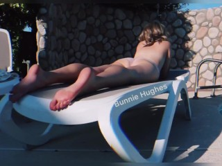 Fast Forward Poolside Lounging