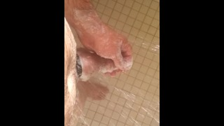 Two Cock Rings and a Shower Scub Down :) So Good :P .....