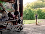Homemade Outdoor Real Public Sex