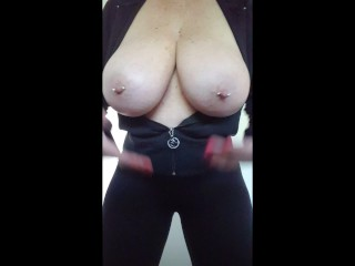 """Aussie mature milf lady says """" Who wants to titty fuck my HUGE BOOBS!"""