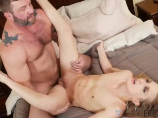 TRANSEROTICA Nubile TS Rachel Nova Drilled After Blowjob