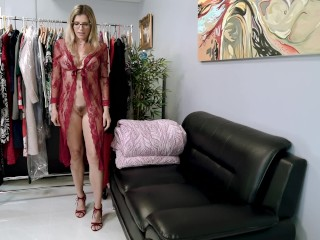 Horny Step Mom Wants Anal Sex before My Dad Comes Home - Cory Chase mmf creampie