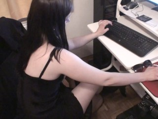 home office foot domination by goddess gloria