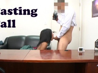 BANGBROS – Isabella Pena Receives A Backroom Facial During Casting Session