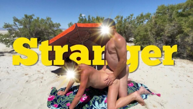 Tgp wife stranger Hotwife fucked by a stranger at the beach and makes cuckold husband film