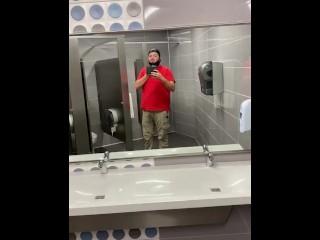 Exposing myself in a public bathroom