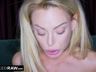 BLACKEDRAW Room service delivers BBC to this hungry blonde