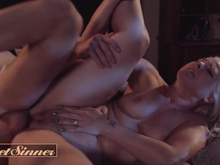 Sweet Sinner – Natural Beauty Lisey Sweet Gets Wild On Her Friend's Hard Dick