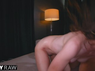 TUSHYRAW Sexy Brunette dreams about anal & gaping all day