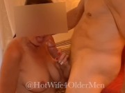 Cuckold helps HOTWIFE get ready for a date with OLDER BULL Part 1