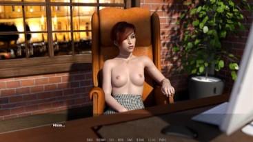 Rock Star: Voyeurs And Horny Girl Masturbates In Her Office-Ep 4