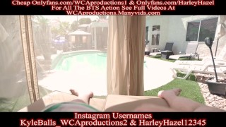 Pool Cabana Fun With My Friends Hot Mom Part 1 Harley Hazel