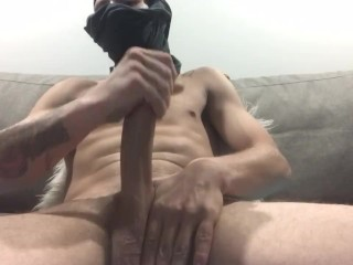 Intense Solo Jerkoff Session With Max\u2019s Huge Canadian Cock