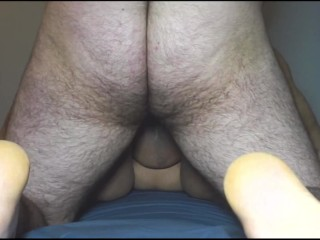 Premature Creampie during Doggystyle Quickie With Asian BBW Classmate