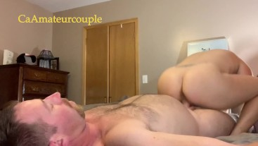 CaAmateurcouple has multiple orgasms for both him and her