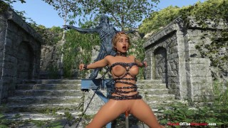 Tokyo's Monster Dildo BDSM Fantasy – 1080P 3D Animation with Voice Acting – Consensual Bondage