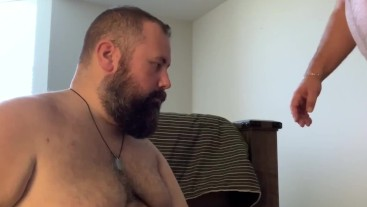 Grandpa gets head from another man for the first time - featuring FloridaBear