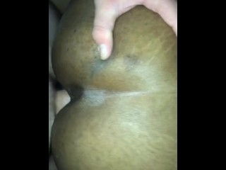 Ebony Squirting on BWC