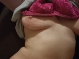 Sleepy pawg woken up for dick after partying