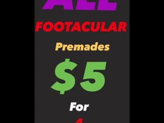 GOD of FOOTJOBS/ ONLYFANS $ALE