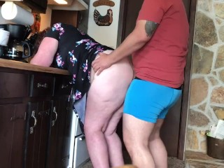 Sexy single mother in her first video!! Takes a massive Persian cock like a champ!