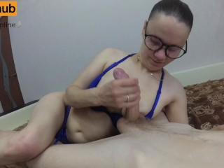 Nerdy Teen Girl with Glasses Wants My Big Dick