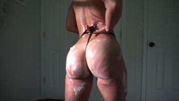 Hairy Horny PAWG Goes Wild With Whipped Cream + I Play With My Pussy Till I Cum!