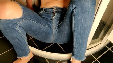 Wetting my jeans sitting down
