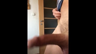 BOUNING MY HUGE DICK WITH A HARD-ON
