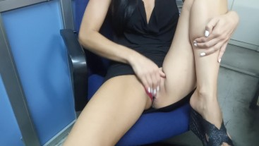 Real amateur wife risky masturbate orgasm in the office