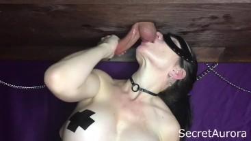Cumming Hard at Milking Table