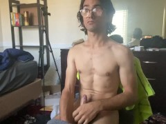 Guy With Cerebral Palsy Trying To Jerk Off To Pornography