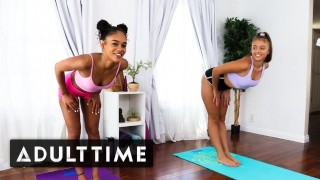 ADULT TIME Cardiogasm- Workout & Hot Lesbian Sex with Gia & Scarlit