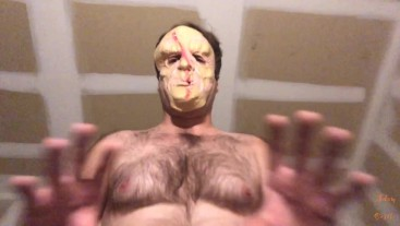 Masked Redneck Turns Pansy Into A Toilet Face POV
