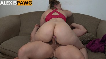 Big Booty Pawg Insanely Tight Pussy Fucked Riding Assjob Cumshot!